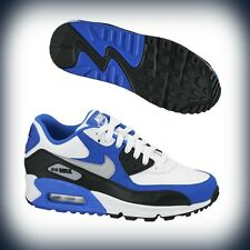 Kids Nike Air Max 90 GS Black/White/Wolf Grey 307793-005