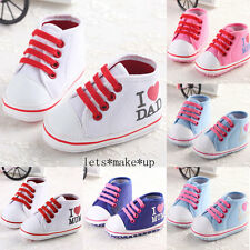 Baby Shoes Boy Girl Soft Sole Crib Infant Sneaker Toddler Newborn 0-18Months USA