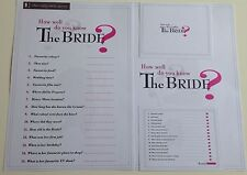 How Well Do You Know The Bride Hen Game