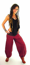 Tie up Harem Aladin Pants Pure cotton cool Baggy Alibaba festival TRIBAL Indian
