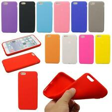 New Soft Slim Silicone Rubber Gel Back Skin Cover Case For iPhone 6 6S Plus 5.5""
