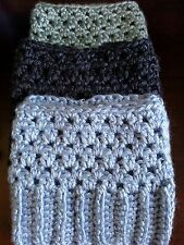 Handmade Crochet Boot Cuffs Boot toppers Boot socks ON SALE LAST ONES