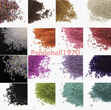50g DIY No Hole Opaque Dyed Nail Art Trend Caviar Manicures Nail Micro Beads