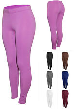 Women's Winter Fleece Brush Lined Thermal Spandex Leggings – S-XXL – 1593