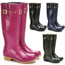 Womens Joules Outdoor Wellies Stable Yard Ski Country Waterproof Boots Size 3-8
