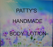 """8OZ JAR HANDMADE BODY LOTION FREE SHIPPING MADE WITH BEES WAX """"YOU PICK SCENT"""""""