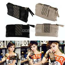 #gib Luxury Rivet Long Purse Card/Coin/Cell Phone Holder Ladies' Bag Party Club