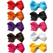 32 Pattern Lovely Flower Bow Pet Dog Cat Puppy Grooming Hairpin Hair Clip 2 PCS
