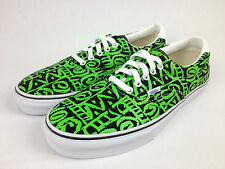 VANS. AUTHENTIC Men's Women's VAN DOREN ERA Green TRIBAL Canvas Shoes. Men US 12
