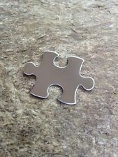 Stainless Steel Stamping Blanks NEW! Puzzle Piece Mirror Finish Blank Metal