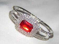 GLAMOROUS SPARKLING PARTY RHINESTONE BRACELET CUFF (AVAILABLE 5 COLORS)