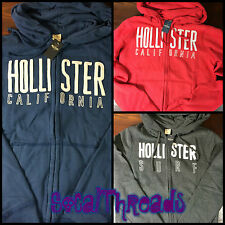 Hollister by Abercrombie Men's Hooded Sweatshirt/Hoodie NWT Emerald Cove M L XL