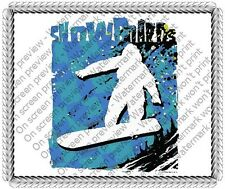 Snowboards Birthday ~ Frosting Sheet Cake Topper ~ Edible Image ~ D
