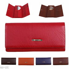 Womens / Ladies Designer Purse; Tri-fold; As Picture; High Grade Faux Leather