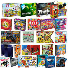 NEW! HASBRO BOARD GAMES / FAMILY / CHILDREN / ADULTS / PARTY - VARIOUS TO CHOOSE