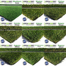 Artificial Grass Carpet Quality Fake Grass Garden Astro Natural Green Turf Lawn