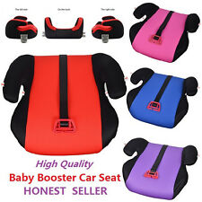 Baby Sturdy Child Kid Car Booster Seat W Safety Belt 3 To 12 Years old 15-36kg