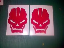 Call Of Duty Skulls 100mm Decal Sticker PS3 Xbox Halo Ghost