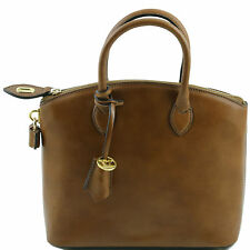 TUSCANY LEATHER shopper bag from women leather tote small size made in Italy