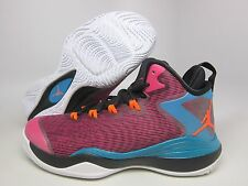 NEW YOUTH AIR JORDAN SUPER FLY 3 (GS) [684936-625] FUSION PINK//ORANGE-BLK-TEAL