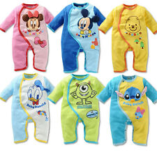 New Baby Toddler Newborn Boy Girl Disney Clothes Romper Jumpsuit Bodysuit Outfit