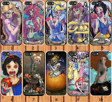 Disney princess zombies for iPhone 6 4/4S 5/5S 5C Samsung Galaxy S3 S4 S5 case