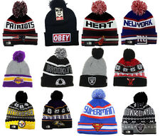 Winter Beanie 2014 Patriots OBEY Pittsburgh Oakland Hip Hop Ski Hat Cap Beanies