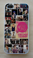 5 SOS 5 Seconds of Summer Collage Snap on or Rubber Case For Apple iPhone & iPod