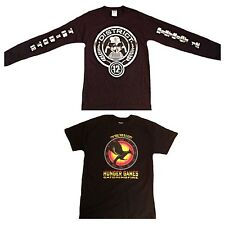 Hunger games  mocking jay catch fire t-shirts ( District 12 Clothing )
