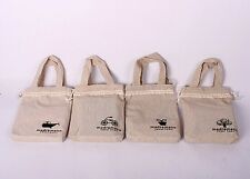Cartoon Print ECO Zakka Sundries Storage Shopping Bag Grocery Tote Linen SNGW052