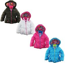 Big Chill Toddler Girls Snow Flakes Puffer Winter Jacket Coat size 2T 3T 4T