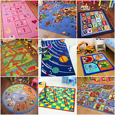 Children Learning Rugs Educational Play Mat Kids Interactive School Activity Rug