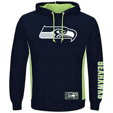 Seattle Seahawks MENS Sweatshirt Pullover Hoodie Passing Game by Majestic
