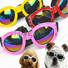Pet Dog Collapsible Goggles UV Protection Sunglasses Eye Wear Adjustable Strap