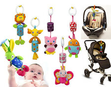 Baby Infant Soft Bed Crib Around Stroller Music Hanging Bell Rattles Plush Toy