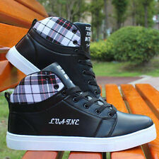 Fashion Mens Ankle Boots High Top Shoes Casual Shoes Sneakers Cheap Mens Shoes