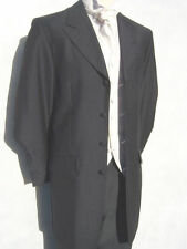 Mens Grey Long Style 3/4 Length Edwardian Jacket Teddy Boy Style SALE ONLY £20