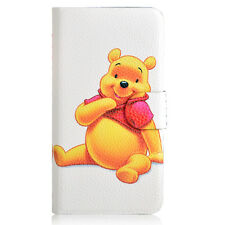 2014 Hot sale Winnie the Pooh Tigger PU leather Flip case cover for Sony 15