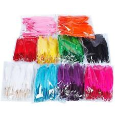 Free shipping! 100 beautiful goose feather 4-6 inches 10-15 cm, choose color