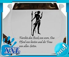 Car sticker decal sexy woman Amazon woman tattoo lettering stickers 2A055_1