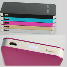 Ultrathin 50000mAh Backup External Battery USB Power Bank Charger for Cell Phone