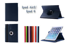 Lichee Pattern 360 Rotating Leather Case Cover For Apple ipad air2 ipad6 ipad 6