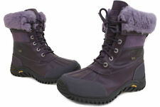 NEW WOMEN UGG AUSTRALIA BOOT II ADIRONDACK Purple WATERPROOF FABRIC 1909ORIGINAL