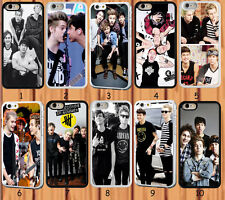 cool 5SOS band for iPhone 6 6 Plus 4/4S 5/5S 5C Samsung Galaxy S3 S4 S5 case
