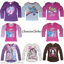 New Girls Character MY LITTLE PONY /  VIOLETTA Long Sleeve T-shirt Top Age 2-14