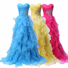 STOCK New Hot Bridemaid Dress Prom Dress Evening Gown  Size 6-8-10-12-14-16-18