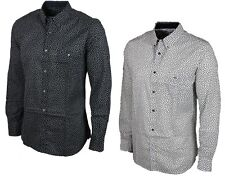 MENS SHIRT FRENCH CONNECTION LONG SLEEVE IN 2 COLOURS  ALL SIZES S - XL