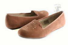 Women UGG Australia Alloway Slipper 1001632 Chestnut Suede 100% Authentic New