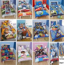 Childrens Character Single Duvet Boys & Girls 100% Official Branded Quilt Cover