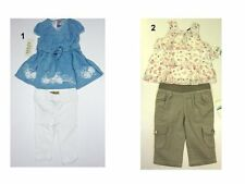 NWT CALVIN KLEIN ,GUESS jean Toddler Infant Baby Girls Cute Outfit Set Sz:12,18,